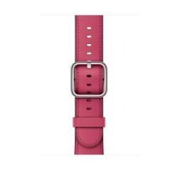 Apple - MQV22ZM/A Grupo de rock Fucsia Cuero accesorio de relojes inteligentes