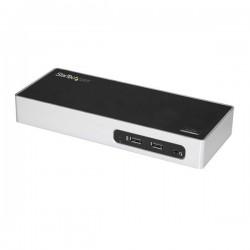 StarTech.com - Docking Station USB 3.0 para Dos Monitores - 6x USB 3.0