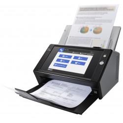 Fujitsu - N7100 600 x 600 DPI Escáner con alimentador automático de documentos (ADF) Negro A4