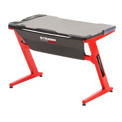 Woxter - GM26-048 Gris, Rojo escritorio para ordenador