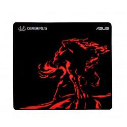 ASUS - Cerberus Mat Plus Negro, Rojo Alfombrilla de ratón para juegos