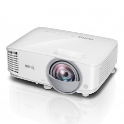 Benq - MX808ST videoproyector 3000 lúmenes ANSI DLP XGA (1024x768) Proyector para escritorio Blanco