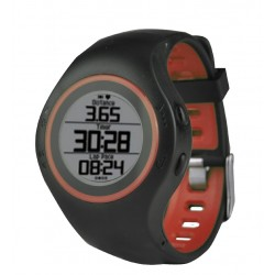 Billow - XSG50PRO reloj deportivo Bluetooth Negro, Rojo