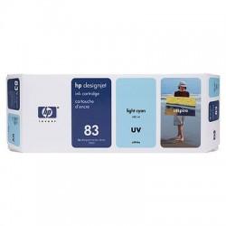 HP - Cartucho de tinta UV DesignJet 83 cian claro de 680 ml