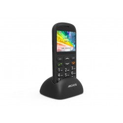 Archos - Senior phone 92g Negro Teléfono para personas mayores