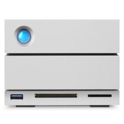 LaCie - 2big Dock Thunderbolt 3 12TB unidad de disco multiple Escritorio Gris