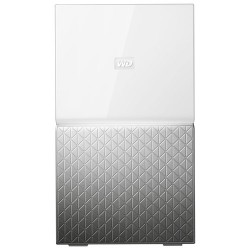 Western Digital - MY CLOUD HOME Duo 6 TB 6TB Ethernet Plata, Color blanco dispositivo de almacenamiento personal en