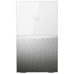 Western Digital - MY CLOUD HOME Duo 6 TB dispositivo de almacenamiento personal en la nube Ethernet Plata, Blanco