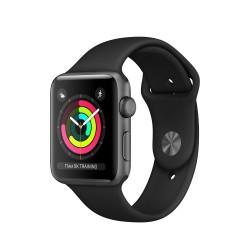 Apple - Watch Series 3 OLED GPS (satélite) Gris reloj inteligente - 22138388