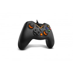 Krom - NXKROMKEY mando y volante Gamepad Android,PC,Playstation 3 Analógico/Digital USB Negro