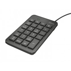 Trust - 22221 teclado numérico USB Portátil/PC Negro
