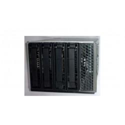 "Intel - 3.5 inch Hot-swap Drive Bay Kit AUP4X35S3HSDK 3.5"" Carrier panel Negro, Acero inoxidable"