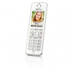 AVM - FRITZ!Fon C4 International Teléfono DECT Blanco Identificador de llamadas