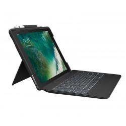 Logitech - Slim Combo Smart Connector Español Negro teclado para móvil - 22231640