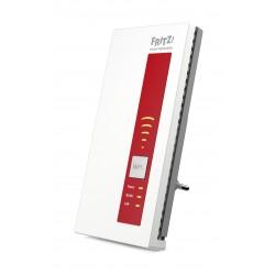 AVM - FRITZ!WLAN Repeater 1750E International Rojo, Blanco