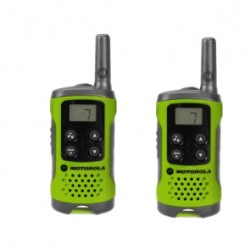 Motorola - TLKR-T41 8channels 446MHz Verde two-way radios