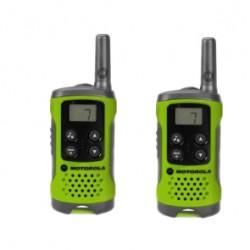 Motorola - TLKR-T41 two-way radios 8 canales 446 MHz Verde