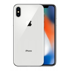 "Apple - iPhone X 14,7 cm (5.8"") 64 GB SIM única 4G Plata"