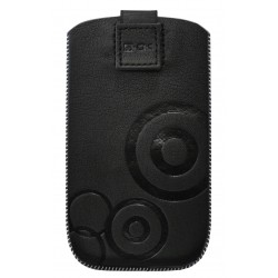 Blautel - KUPWNS Estuche de extracción Negro funda para teléfono móvil
