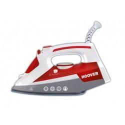 Hoover - IRONJET TIM 2500 Plancha vapor-seco Suela de cerámica 2500W Gris, Rojo, Color blanco