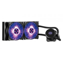 Cooler Master - MasterLiquid ML240L RGB Procesador refrigeración agua y freón