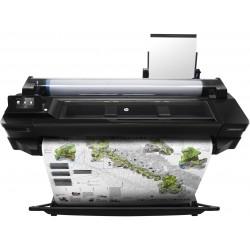 HP - Designjet T520 24-in impresora de gran formato Color 2400 x 1200 DPI Inyección de tinta térmica A1 (594 x 841