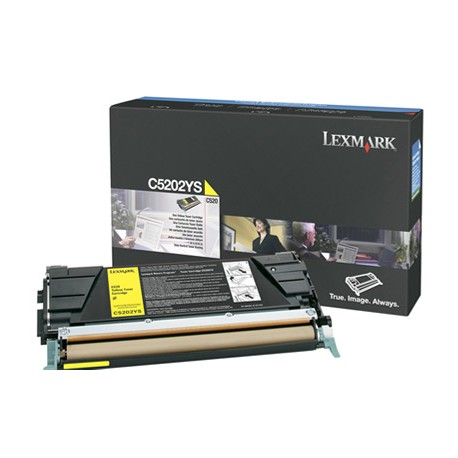 Lexmark - C5202YS Laser cartridge 1500pginas Amarillo tner y cartucho lser