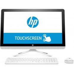 """HP - 24 -e014ns 2.4GHz A9-9400 AMD A 23.8"""" 1920 x 1080Pixeles Pantalla táctil Blanco PC todo en uno"""