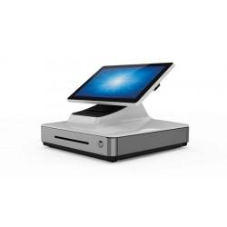 """Elo Touch Solution - E347918 sistema POS Todo-en-Uno 2 GHz 39,6 cm (15.6"""") 1920 x 1080 Pixeles Pantalla táctil Gris, Blanco"""
