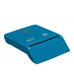 Woxter - PE26-143 Interior USB 2.0 Azul lector de tarjeta inteligente