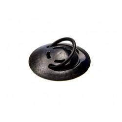 Phonering - NOCAE_001_001 Finger strap Negro accesorio para dispositivo de mano
