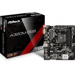 Asrock - A320M-DGS AMD A320 Zócalo AM4 Micro ATX
