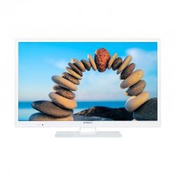 """Hitachi - 24HBC05W 24"""" HD 220cd / m² Blanco A+ televisión para el sector hotelero"""