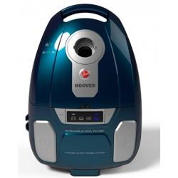 Hoover - OP60ALG 011 Aspiradora cilíndrica 4.5L 450W A++ Azul, Plata