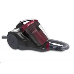 Hoover - CH50PET 011 550 W Aspiradora cilíndrica 2,5 L Negro, Rojo
