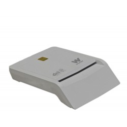 Woxter - PE26-144 Interior USB 2.0 Blanco lector de tarjeta inteligente
