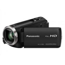 Panasonic - HC-V180EC-K Videocámara manual 2.51MP MOS BSI Full HD Negro soporte de videocámara