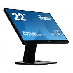 "iiyama - ProLite T2252MSC-B1 monitor pantalla táctil 54,6 cm (21.5"") 1920 x 1080 Pixeles Negro Multi-touch"
