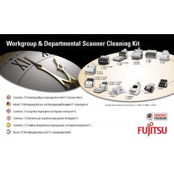 Fujitsu - SC-CLE-WGD Escáneres Paños húmedos para limpieza de equipos kit de limpieza para computadora