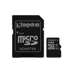 Kingston Technology - Canvas Select 16GB MicroSDHC UHS-I Clase 10 memoria flash - 22220269