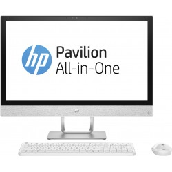 "HP - Pavilion 24-r076ns 2.9GHz i7-7700T 23.8"" 1920 x 1080Pixeles Blanco PC todo en uno"