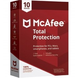 McAfee - Total Protection 2018 1año(s) Base license Español