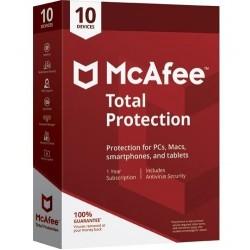 McAfee - Total Protection 2019 Licencia básica 1 año(s) Español