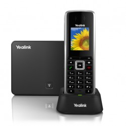 Yealink - W52P teléfono IP Negro Terminal inalámbrico LCD