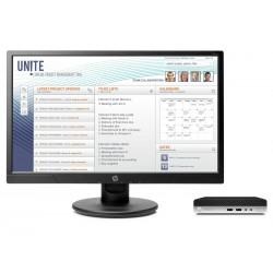 HP - ProDesk 400 G3 Mini + V214a 7ª generación de procesadores Intel® Core™ i5 i5-7500T 4 GB DDR4-SDRAM 500 GB Unid