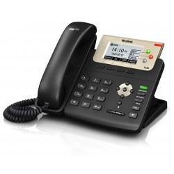 Yealink - SIP-T23G teléfono IP Negro Terminal con conexión por cable LCD