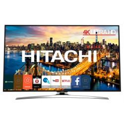 """Hitachi - 43HL15W69 43"""" 4K Ultra HD 350cd / m² Smart TV Cromo A+ 20W televisión para el sector hotelero"""