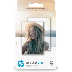 HP - Papel fotográfico adhesivo ZINK™: 50 hojas/5,8 x 8,7 cm