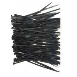 Gembird - NYTFR-250X3.6 presilla Nylon Negro 100 pieza(s)