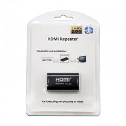 Nanocable - Repetidor HDMI, A/H-A/H, Negro